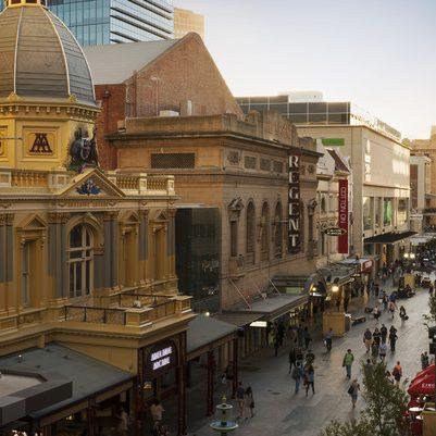 Rundle Mall, Adelaide, SA